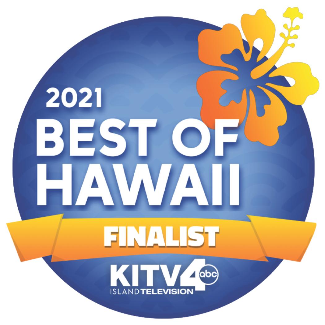 Best of Hawaii 2021 Finalist